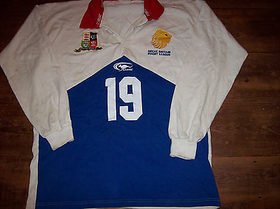 2000 2001 Great Britain #19 Rugby League Shirt Adults XXL GB Jersey