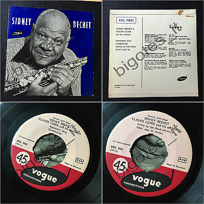 SIDNEY BECHET September Song Summertime DANISH VOGUE EPL 7012 Jazz ep