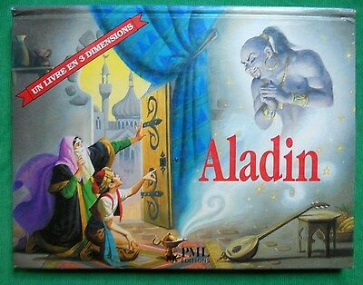 Aladin Rossana Papagni Livre Anime Pop Up Relief 1994 Pml Edition