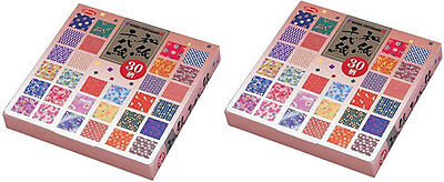 DHL Delivery 3-7 Days to USA Showa Grimm Washi Origami 30 Pattern 150sheets 2Set