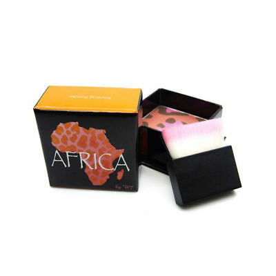 W7 Africa Bronzer Blusher - Shimmer Contour Highlighter With Brush