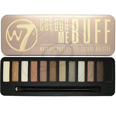 W7 Eyeshadow Palette - Colour Me Buff - With Applicator Makeup