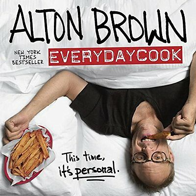 Alton Brown EveryDay Cook Home Food Prepare Supply Kitchen Aid Read Book Cuisine