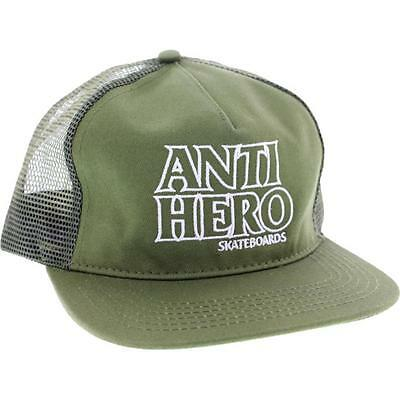Anti Hero Outline Hero Mesh Adjustable Hat Army/white