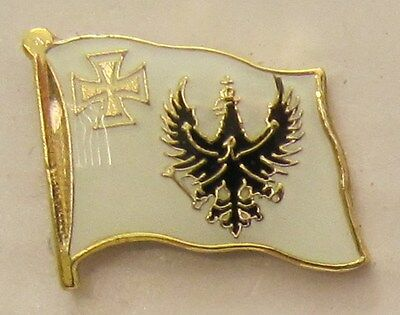 Pin Anstecker Flagge Fahne Preußen eisernes Kreuz Flaggenpin Badge Button Clip