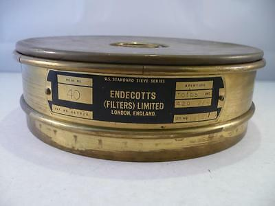 Vintage U.S. Standard Sieve Series by Endecotts Ltd