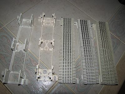 Lot Of 3 Siemon S66M1-50 Telephone Punch Down Block Cat 5