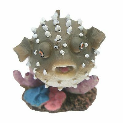 Aquarium Ornament Air Action Puffer Fish