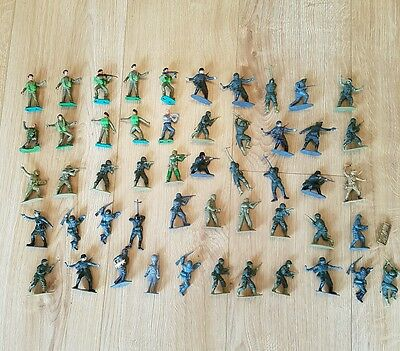 1/32 Airfix and Timpo WWII figures x51