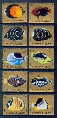 fujeira / tropical fishes 10s./mnh.good condition