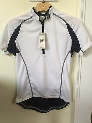 a86ed91dd New Women s Specialized RBX Sport Jersey Short Sleeve Size Medium White w  Black