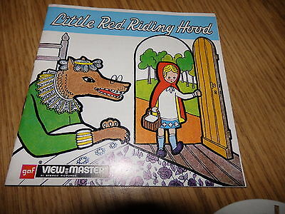 GAF Viewmaster Reels Little Red Riding Hood B420E