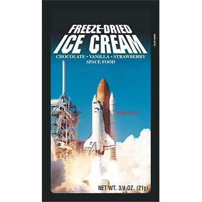 LuvyDuvy 57-523-12 Neapolitan Freeze-Dried Ice Cream, 12-pack