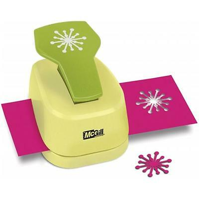 Paper Blossoms Lever Punch-Starburst, 1.375''