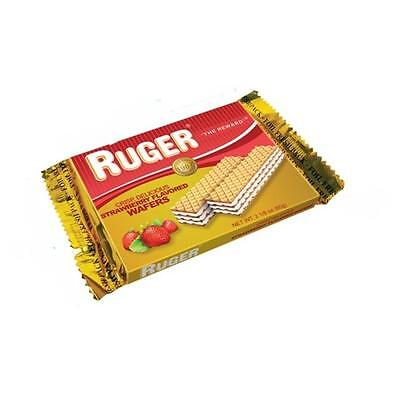Ruger Wafer 8-56293-00311 8 Strawberry Australian Wafers, 12 pack