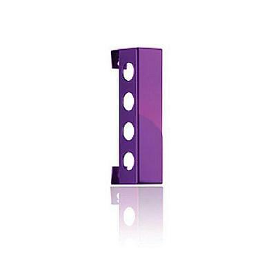 Vynebar VB4PP Vynebar 4 Polished Purple Vertical Wine Rack