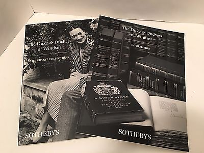 The Duke & Duchess of Windsor Sotheby's catalogs Private Collection 1997