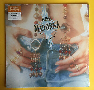 Madonna - True Blue & Like A Prayer 2 X Lp's Blue & Red Vinyl Sainsburys Sealed