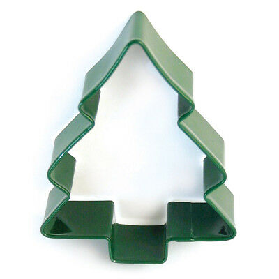 Eddingtons Green Christmas Tree Cookie Cutter - Pastry/Biscuit Cutter 10cm