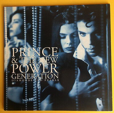 PRINCE AND THE NEW POWER GENERATION,DIAMONDS AND PEARLS ALBUM,UK Promo 2LP,EX+