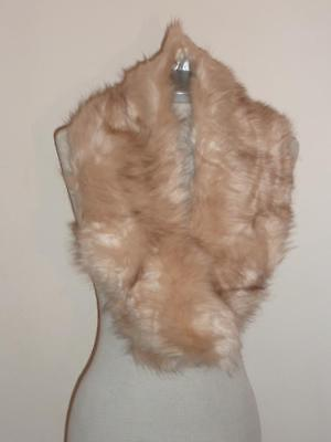 Stunning Faux Fox Fur Collar-Stole -Wrap Ideal for Party Wedding / Prom/  Xmas