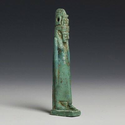 Rare And Tall Egyptian Amulet of Hatmehyt