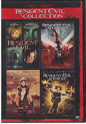 RESIDENT EVIL COLLECTION (DVD, 2015, 2-Disc Set) NEW