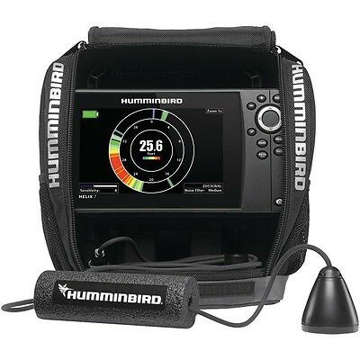 NEW Humminbird 409900-1 Ice Helix 7 Sonar Gps