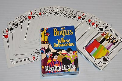 THE BEATLES YELLOW SUBMARINE Playing Cards 2007