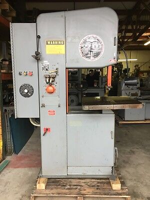 "2013-20 DoALL 20"" Vertical Band Saw, Variable Speed BandSaw"