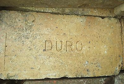 Antique DURO Fire /Acid Brick
