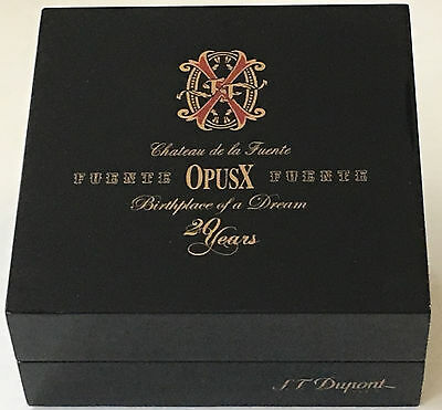S.T. Dupont 20th Anniversary, Fuente Opus X Lighter Box for Ligne 2, BOX ONLY