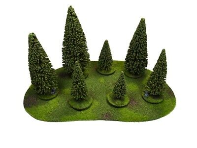 Large Forest  warhammer Wargame Terrain Scenery aos 28 mm forêts décor