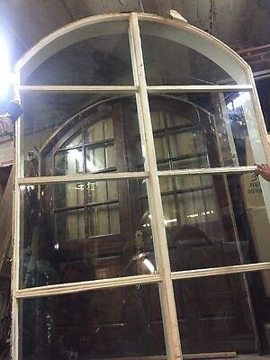 "96""x64""arched Window In Frame"