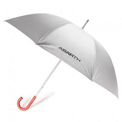 Official Abarth Golf Style Umbrella, Brand new & Genuine 59230331 Silver & Red