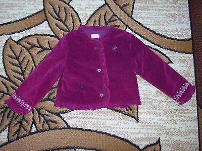 Girls jacket Age 3-4 Years.  Height 98-104 cm.
