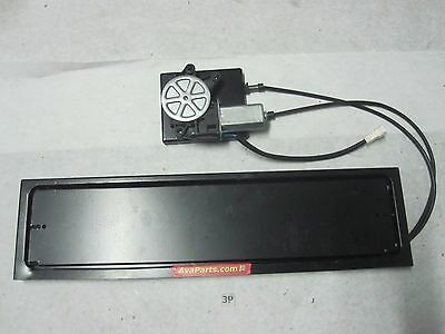 One New Electric license plate flipper Euro type W/ external motor