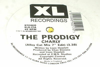 """The Prodigy – Charly 7""""      1991     OLD SKOOL RAVE!!"""