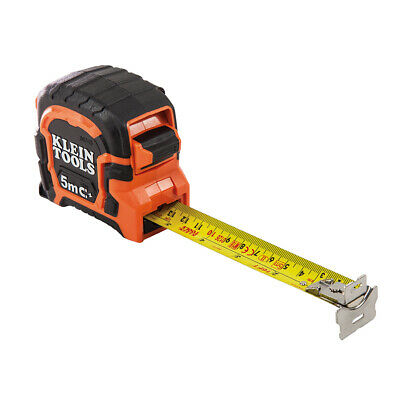 Klein Tools 86315 Double Hook Magnetic Tape Measure, 5-Meter