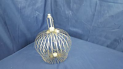 Vintage Appearing Metal Birdcage Magic Trick Made Germany Collapsible Magician