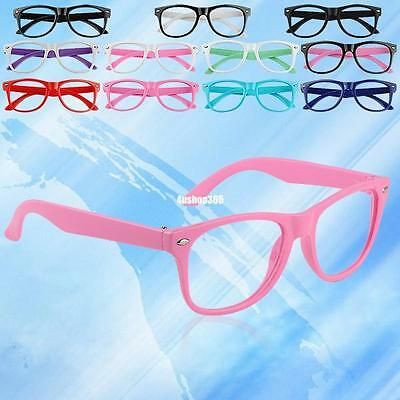 For Children Kids Baby No Glasses Fashion Cute Round Spectacle Lightweight Frame