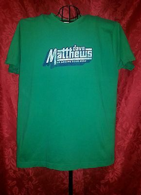 Dave Matthews Band T Shirt Summer Tour '07 Rock Adult XL