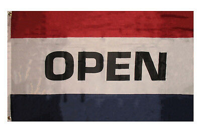 Wholesale Lot of 10 3x5 Advertising Open Sign Store Marketing Flag 3/'x5/' Banner