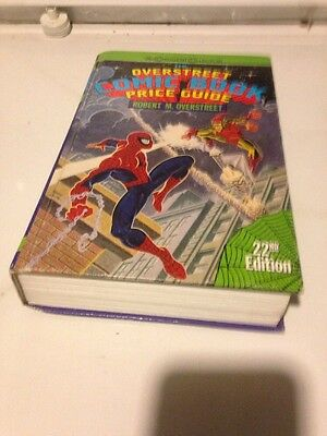 OVERSTREET COMIC BOOK PRICE GUIDE 22nd edition