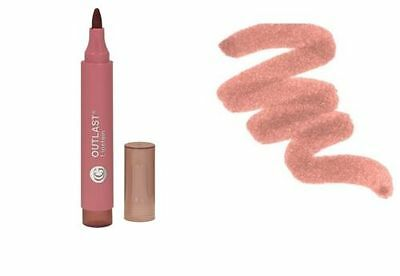 COVERGIRL OUTLAST LIPSTAIN Lipstick Lipcolor CINNAMON SMILE NUDE BROWN Shade 445