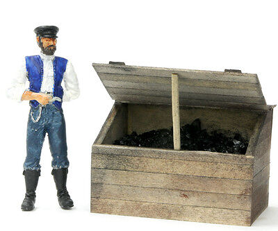 F/G scale BANTA MODEL WORKS #912 Coal Bin, 1 per kit