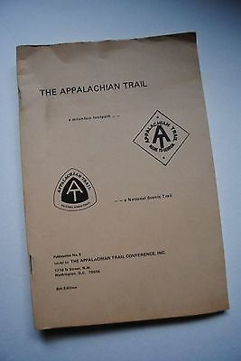 Vintage Appalachian Trail A Mountain Footpath 8th Edition 1970 Plus Letters