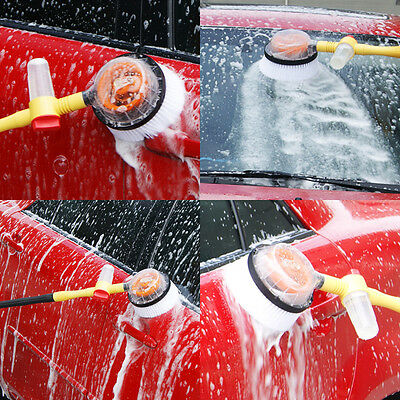 Car Wash Brush Extendable Pole Car Revolving Care Washing Brush Sponge Cleaning