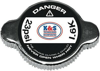 K&S High Pressure Radiator Cap 23psi Red 58-1016
