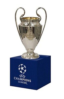 Official Uefa Champions League Trophy 70Mm With Stand - 2014/15 Barcelona